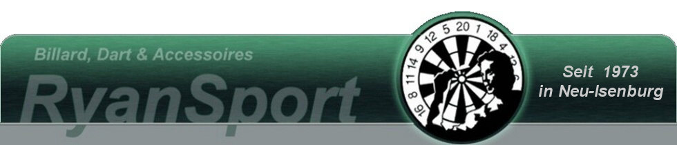 Dart Shop Frankfurt Rhein Main Darts Billard Neu-Isenburg Ryan Sport